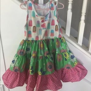 Eleanor Rose Summer Popsicle Dress